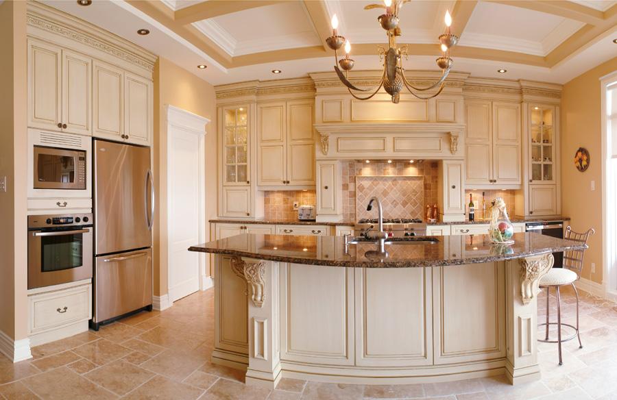 Les mat riaux pour les armoires de cuisine khd for Cuisine moderne en bois 2015